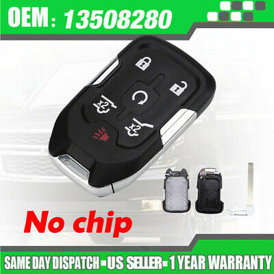 New 6on Remote Smart Key Fob Case For Chevy Suburban Tahoe Gmc Yukon Xl 2017