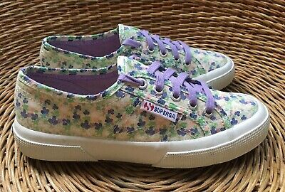 factory authentic latest discount online shop Girls Womens Superga 2750 Fabric Liberty Floral Sneakers Trainer ...