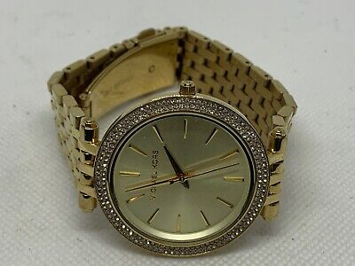701c018d6e22 Michael Kors MK3191 Women s Watch Gold Mineral Crystal Stainless Steel 39mm  B537