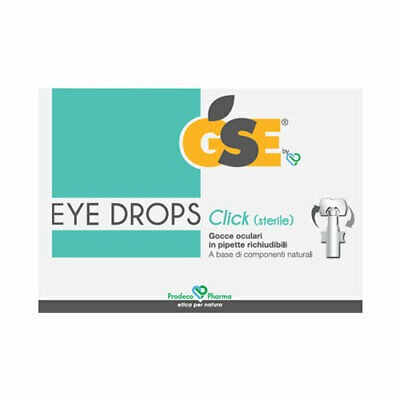 GSE Eye Drops Click 10 pipette richiudibili da 0,5 ml.