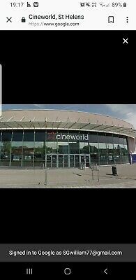 Cineworld cinema tickets x2 adultsPrice is for 2 tickets 2d films only