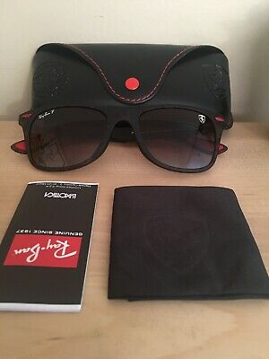 077bc850149c5 Ray Ban Polarized LITEFORCE Ferrari Collection Sunglasses RB4195MF Brown  DEGRAD