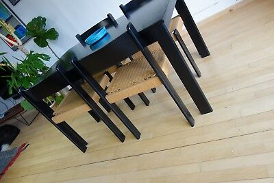Mid Century Danish Style Dining Table and 4 Chairs by Habitat Vintage Retro