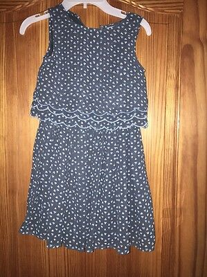 Girls New Tags Dress  Next Age 6 Years Sleeveless Layers Top Spotted