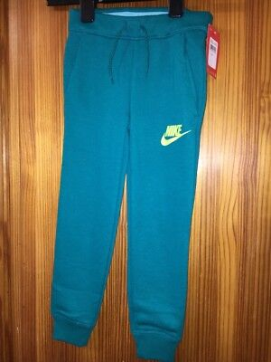 Girls Nike Jogging Bottoms Age 5 Years New Tags Green Cuffed Legs Trackies