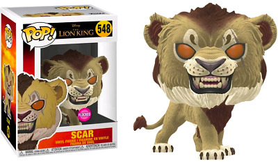 Funko Pop! The Lion King (2019) - Scar Flocked #548 Exclusive