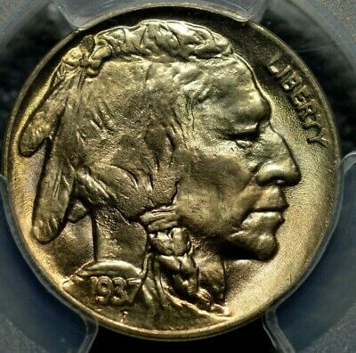 1937-D Buffalo Nickel PCGS MS 66 ( Part of complete collection )