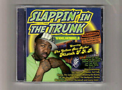 (CD) Slappin' in the Trunk - Volume 1 - MISTAH F.A.B., WOLFPACK, TOO SHORT...