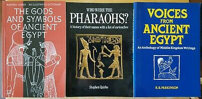 Ancient Egypt / Egyptian History Softcover Book Lot