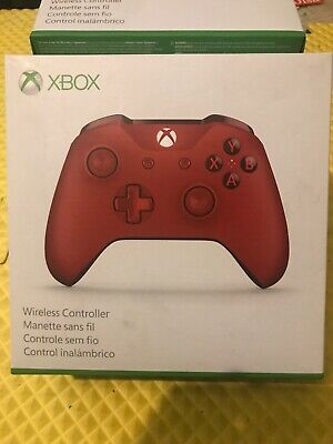 Microsoft Xbox One S Wireless Controller - Red New Open Box