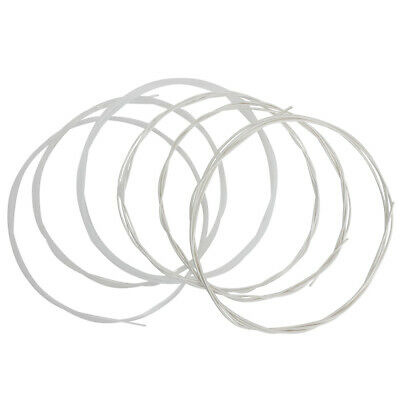 6PCS Transparent Nylon String Acoustic Guitar Strings Set For Classical Guitar