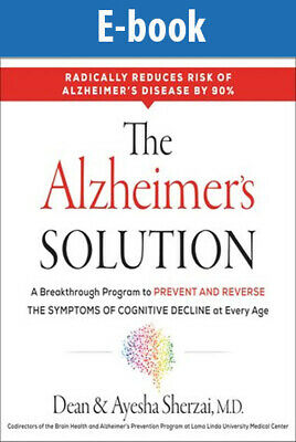 The Alzheimer's Solution by Dean Sherzai (PDF-Epub-Kindle)