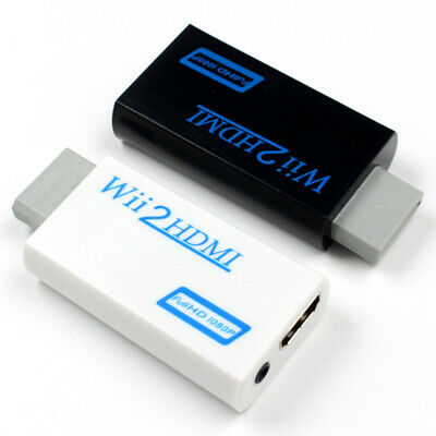 Wii to HDMI 720P 1080P Full HD Audio Output Upscaling Converter Adapter Adaptor