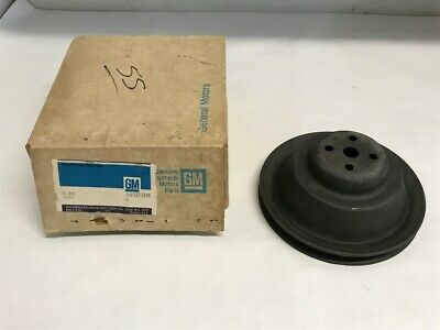 Nos Gm 1957 1958 Corvette Deep Groove Water Pump Pulley Dual Quad Fuel Injection