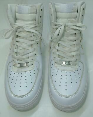 High 315121 White Nike Size12 Force 115 Sneakers 07 Shoes Air Solid Used 1 Men's TKJlcuF13