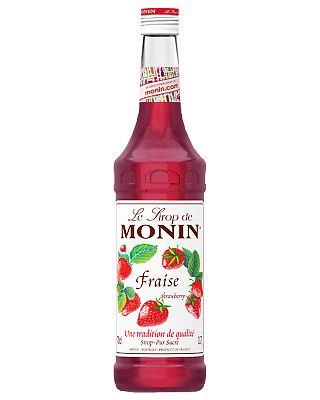 Monin Strawberry Syrup 700mL Other Drinks