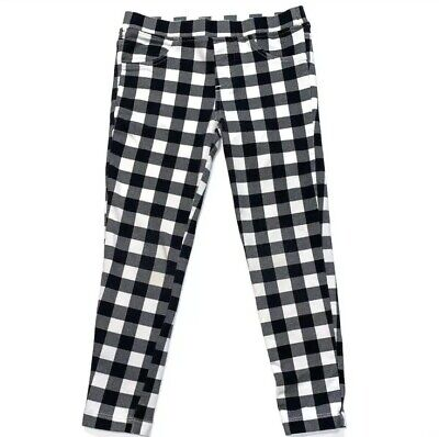 832ffb808a28c Epic Threads Toddler Girls Black & White Plaid Leggings Pants Trousers-  Size 5