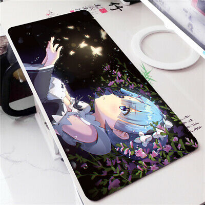 Re Zero Rem Anime Large Game Mouse Pad Playmat Mousepad Keyboard Desk Mat Gift