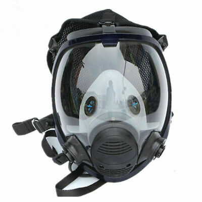 6800 Full Face Gas Mask For Facepiece Respirator Painting Spraying Safety Mask