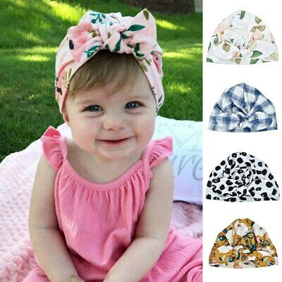 Collection Here Baby Newborn Baby Kid Girl Infant Toddler Bowknot Beanie Cute Hat Hospital Cap Comfy Knotted Headband Hats & Caps