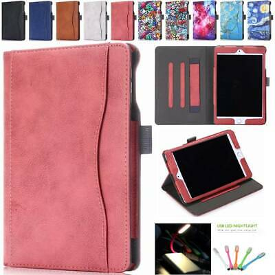 Shockproof PU Leather Smart Cover Case Stand for iPad Mini 5th Generation Mini 4