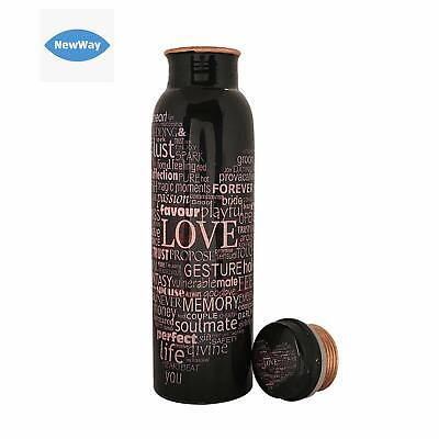 Pure Copper Bottle for Travelling Purpose, Yoga Ayurveda Healing Health Benefits