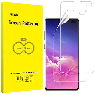 JETech Screen Protector for Galaxy S10 Plus S10+ TPU Ultra HD Film 2-Pack
