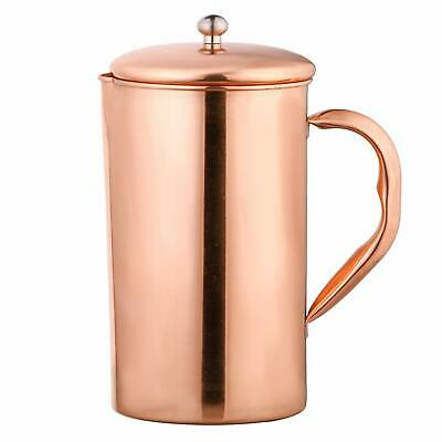 Solimo Copper Jug ( Plain, 1750ml )- Contains Natural Benefits of Pure Copper