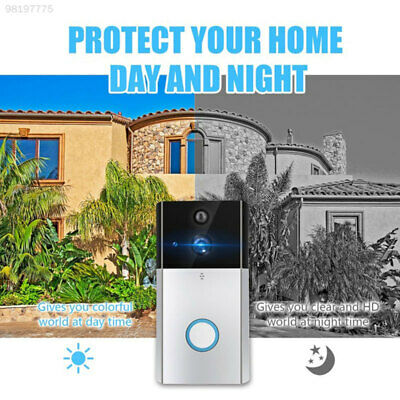 9F1E WIFI Wireless Camera Doorbell CCTV Security Wire Free Surveillance Home
