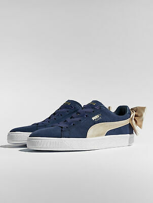 finest selection 9f0e0 f8f98 Puma Femme Chaussures   Baskets Suede Bow Varsity
