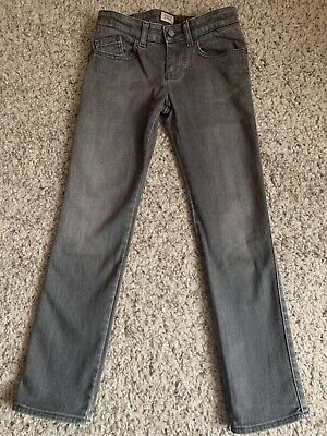 Armani Junior Grey Skinny Jeans Age 9- 136Cm Excellent Condition
