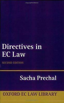 Directives in EC Law by Prechal, Sacha-ExLibrary