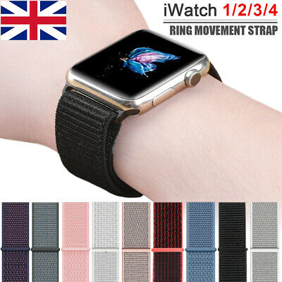 iWatch Sports Loop Band Nylon Replacement Strap For Apple Watch Series 1 2 3 4 U
