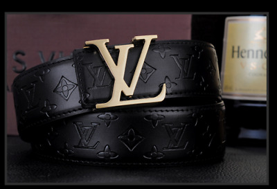 2019 New fashion luxury men and women belt Gold buckle High-end quality belt