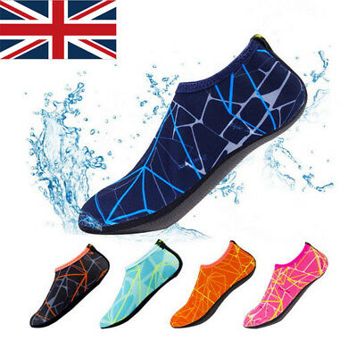 Adult Kids Water Skin Shoes Aqua Socks Diving Quick-Dry Non-slip Swim Beach PATT