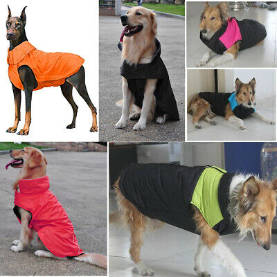 Waterproof Pet Dog Clothes Jacket Vest Fashionable Padded Coat Warmer