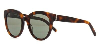 47e4fde87e6 AUTHENTIC SAINT LAURENT SL M3/F 005 Havana/Brown Gradient Lens 57mm ...