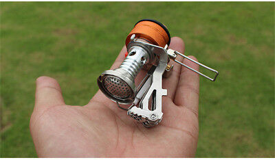 Portable Compact Camping Hiking Fishing Gas Heater Stove Cooker Mini Outdoor