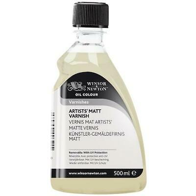 WINSOR & NEWTON ARTISTS OIL BASED MATT VARNISH - 500ml