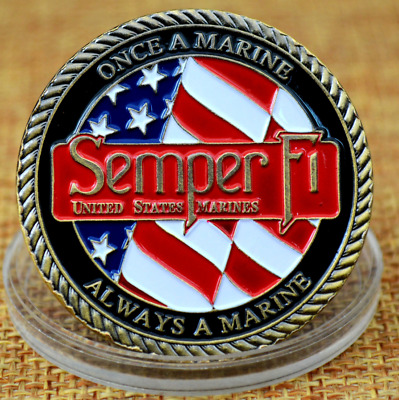 US Marine Corps Coin Collection Art Gift Commemorative Coins Gifts!