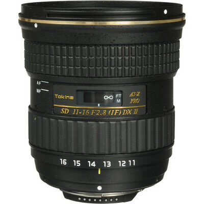 Tokina AT-X 116 PRO DX-II 11-16mm f/2.8 Zoom Lens for Nikon F New in White Box