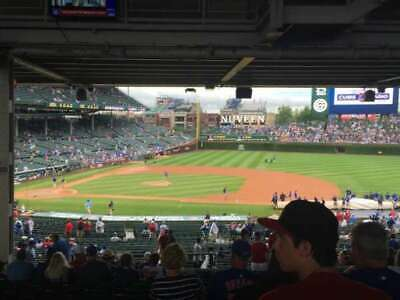 1-5 CHICAGO CUBS vs NEW YORK METS SAT, JUNE 22ND 1:20 PM SECT 225 ROW 19