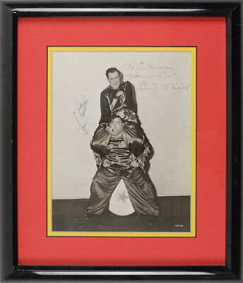 Abbott & Costello - Autographed Inscribed Photograph With Co-Signers