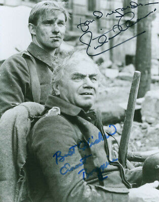 All Quiet On The Western Front Tv Cast - Autographed Signed Photograph