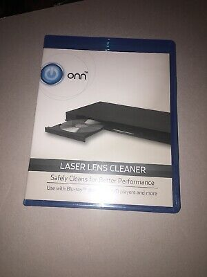 ONN Laser Lens Cleaner Disc. Blu-Ray, DVD, CD Players with Trays