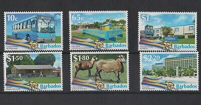 Barbados 2016 50 Years Independence set MNH  per scans