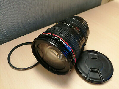Canon EF 24-105mm f/4 L IS USM Zoom Lens with UV Filter