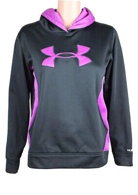 Under Armour storm youth kids girls storm hoodie pullover loose size YLG/JG/G
