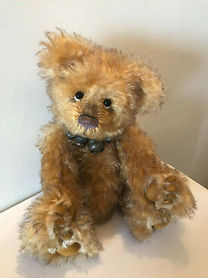 Manufactured Bears Melissa ~ Stunning Plush Bear By Charlie Bears ~ Such A Sweet Face!!