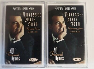 Tennessee Ernie Ford Gaither Gospel Series Amazing Grace Cassette 1&2